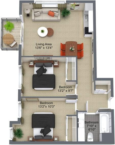 Parkwood Place 2bedroom