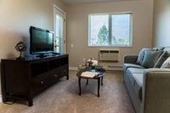 Model Suite, Living Room, Portsmouth, Winnipeg