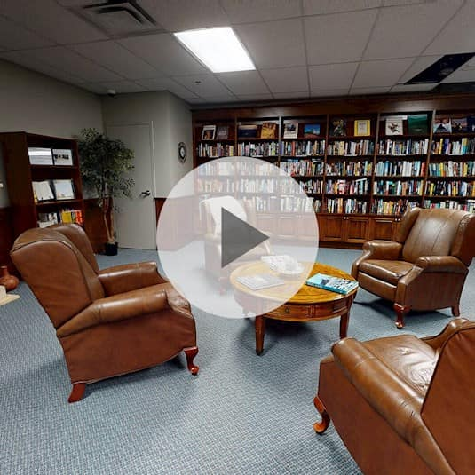 Library, Prince of Wales Retirement Residence, Nepean