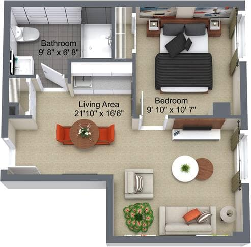 Renaissance 1 Bedroom