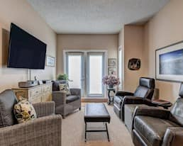 Model Suite, Living Room, River Ridge, St. Albert