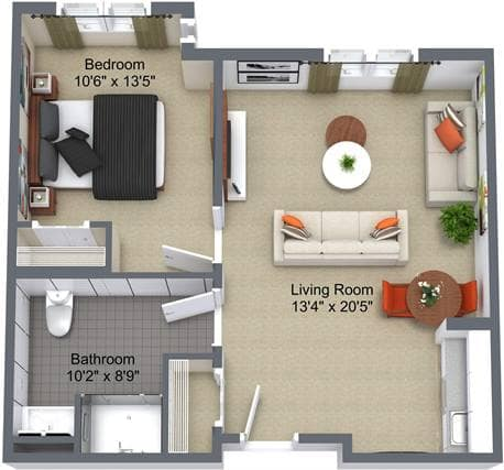 River Ridge 1 Bedroom