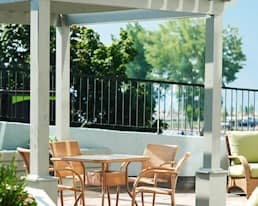 Patio, St. Lawrence Place, Kingston