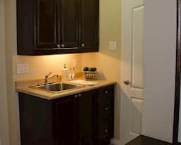 Model Suite, Kitchenette, The Beechwood, Mississauga