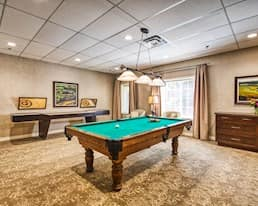 Games Room, The Bentley Hillsdale, Regina