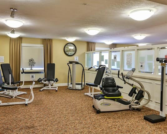 Exercise Room, The Bentley, Moose Jaw