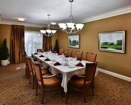 Private Dining Room, The Bentley, Moose Jaw