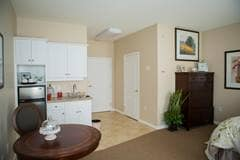 Model Suite, Entrance, The Bentley, Swift Current