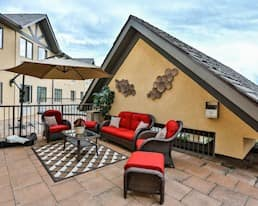 Rooftop Patio, The Bentley Yorkton