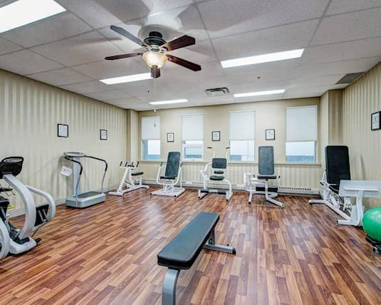 Fitness Room, The Churchill, Edmonton