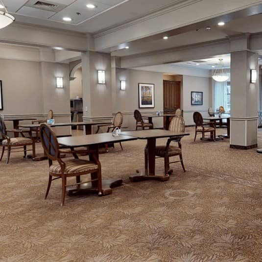 Dining room, The Claremont Retirement Residence, Toronto