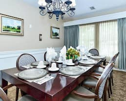 Private Dining Room, The Dorchester, Kelowna