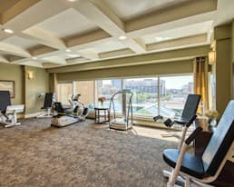 Exercise Room, The Franklin, Saskatoon