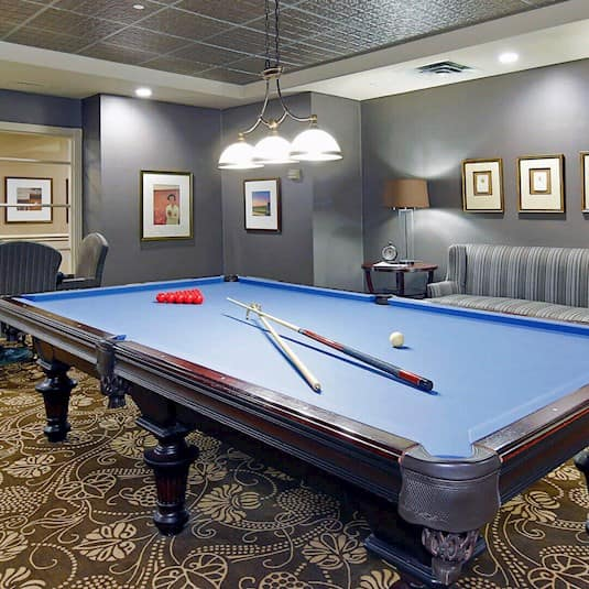 Games Room, The Kensington, Oakville