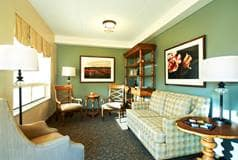 Model Suite, Living Room, The Village Seniors' Community, Hanover