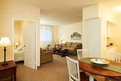 Model Suite, Bedroom, The Village Seniors' Community, Hanover