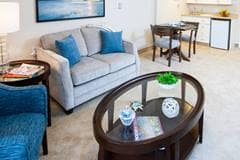 Model Suite, Living Room, The Westwood, Ottawa