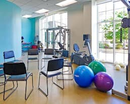 Fitness Room, The Williamsburg, Burlington
