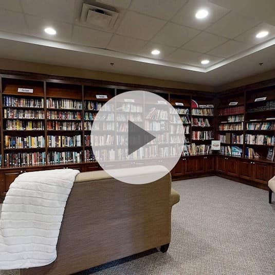 Library, Valley Stream Retirement Residence, Nepean