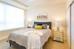 Model Suite, Bedroom, Westney Gardens, Ajax