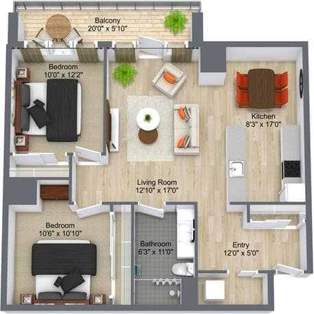 Westney Gardens 2 Bedroom