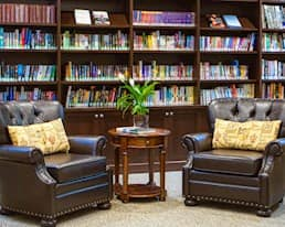 Library, Windsor Park Retirement Residence, Ottawa